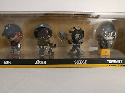 Ubisoft Rainbow Six Siege THERMITE Chibi NEW IN BOX Collectible Figure