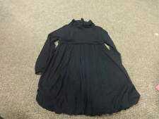 BOUTIQUE LILI GAUFRETTE 8 BLACK DRESS GIRLS