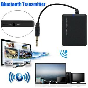 Details about 3 5mm Bluetooth Stereo Music Transmitter A2DP Audio Adapter  Dongle For TV PC MP3