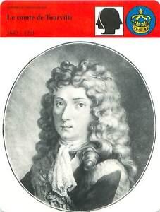 FICHE-CARD-Comte-de-Tourville-Marechal-de-France-Grand-Amiral-de-Louis-XIV-90s