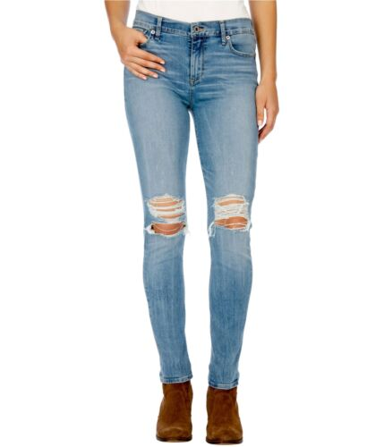 Lucky Brand Womens Ripped Skinny Fit Jeans