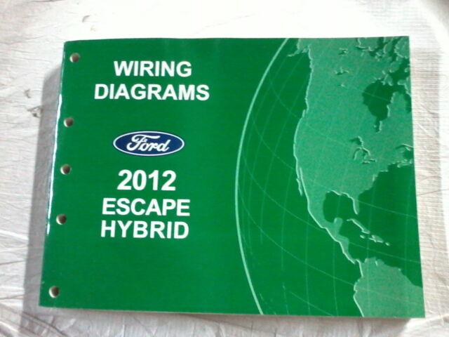 2012 Ford Escape Hybrid Wiring Diagram Manual