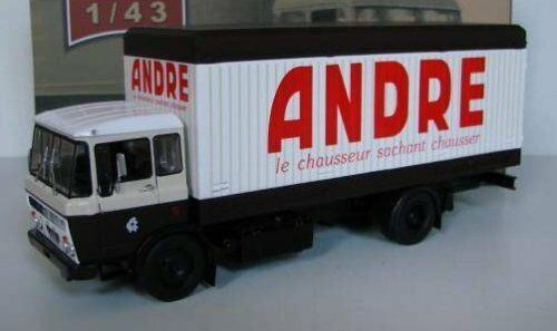IXO 1 43 CAMION DAF A2600 caisse  chaussures ANDRE