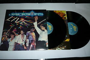 THE-JACKSONS-Live-1981-UK-14-track-double-LP