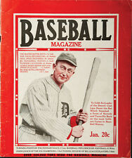 1927 Ty Cobb Cover Baseball Magazine with Babe Ruth inside
