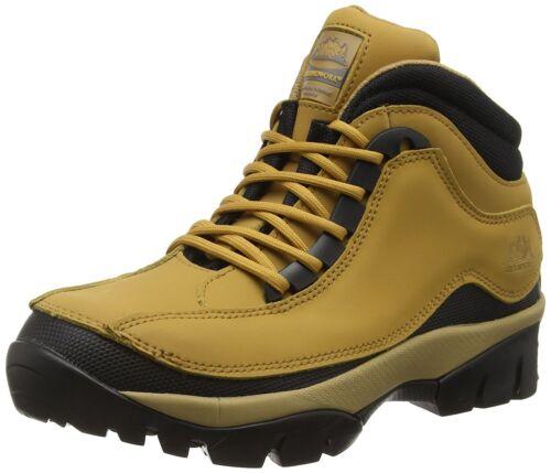 trekking di puntale in 3 con sicurezza lavoro scarponi acciaio Nuovi 14 pelle acciaio Miele Stivali in da in da BwxXxFq8O