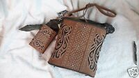 Montana West American Bling Concealed Carry Cross Body Purse With Wallet