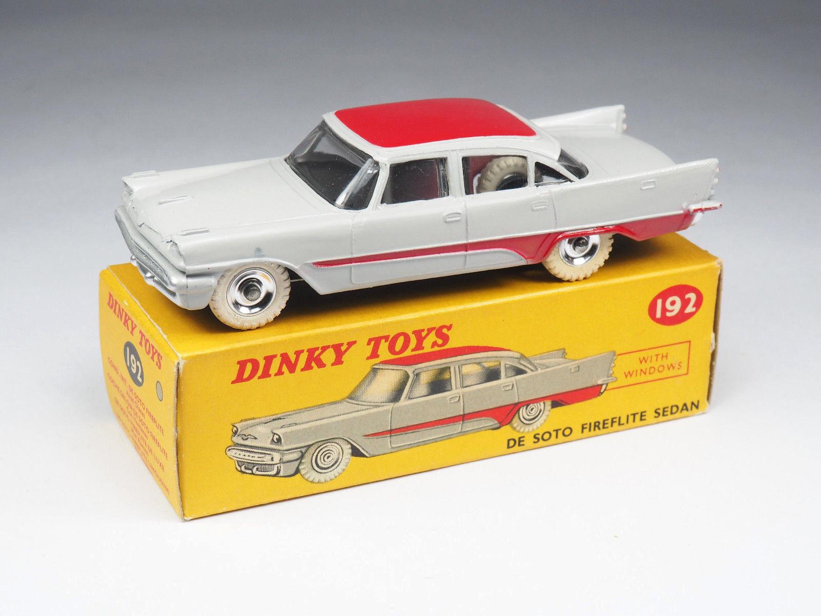 Dinky giocattoli engle -192-de soto fireflite sedan - 1 43e