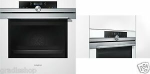 einbau backofen siemens hb634gbw1 iq700 wei a 71. Black Bedroom Furniture Sets. Home Design Ideas
