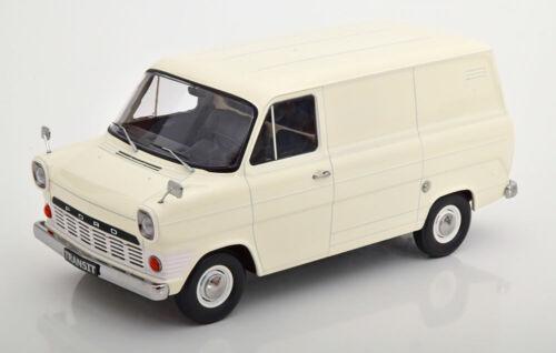 Ford Transit mk1 furgonetas 1965 crema New * 1:18 KK-scale 180493