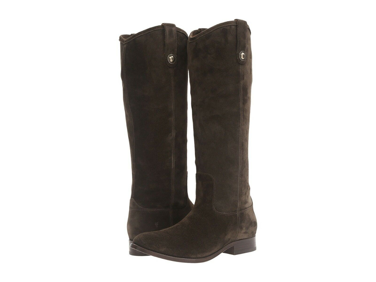 368! NEW Donna FRYE MELISSA BUTTON FATIGUE VINTAGE LEATHER RIDING BOOTS 6.5 !!