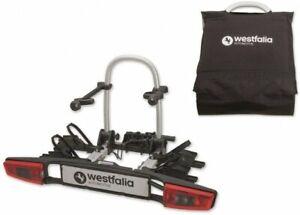 WESTFALIA-BC-80-bikelander-Fahrradtraeger-fuer-Anhaengerkupplung-AHK-inkl-Tasche