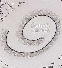 New BJD Dollfie Doll Eyelashes 8mm x 20cm - Black