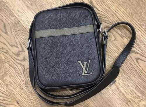 Louis Vuitton Danube Slim PM Leather Shoulder Bag
