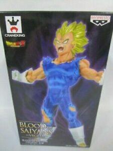 Banpresto Dragon Ball Z Super Saiyan Blood Of Saiyans Vegeta figure Japan F//S