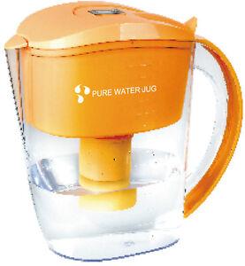Alkaline Ionized Filtered Water Jug 4 seven stage filters.Maifan Stones 3.5 L