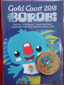2018-Borobi-Gold-Coast-XXI-Games-1-039-Australia-039-COUNTERSTAMP-Coloured-UNC-Coin