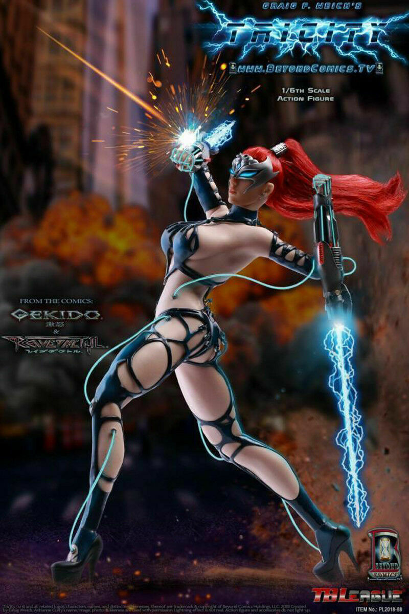 TBLeague PL2018-88 1 6 Lightning Goddess cui si TRICITY Toy Action Figure Féminine