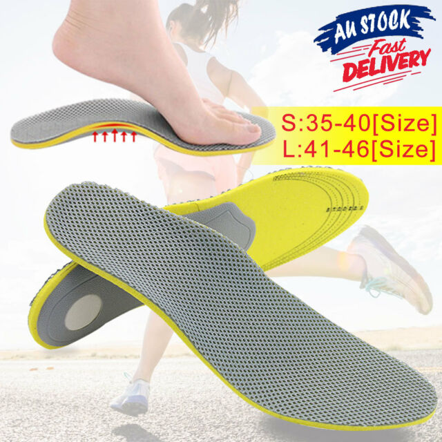 d529bb5d21d97 Orthotic Arch Orthopedic Support Pads Pain Relief Flat Foot Sports Insoles