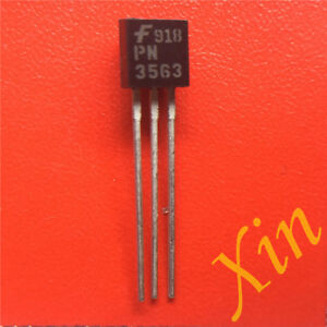 10PCS-PN3563-transistor-N-channel-30mA-TO-92-new-original