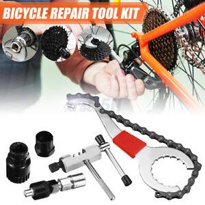 Bicycle Repair Tool Kits Chain Cutter Bottom Bracket Remover Freewheel Puller