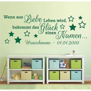 Wandtattoo-Spruch-Liebe-Leben-Glueck-Namen-Wunschname-Wandsticker-Aufkleber-4