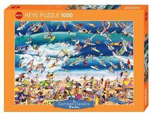 ROGER BLACHON - SURFING - Heye Puzzle 29703 - 1000 Teile Pcs.