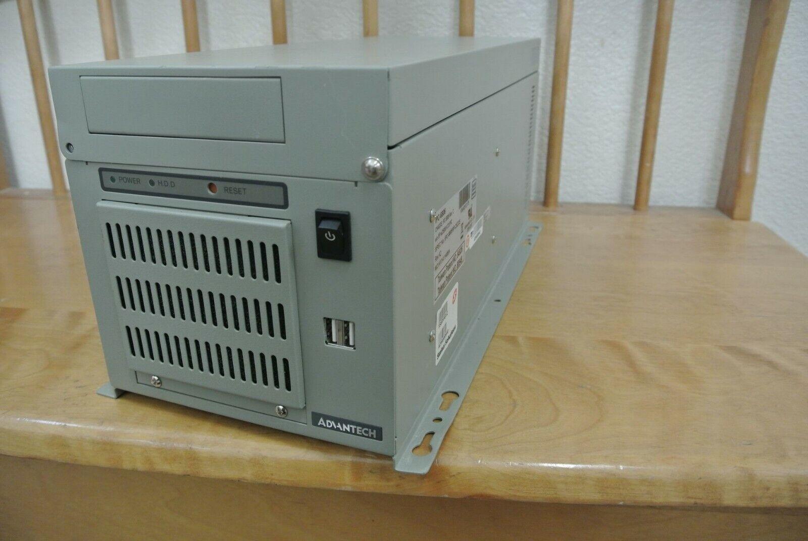ADVANTECH IPC-6806 6-SLOT INDUSTRIAL COMPUTER 2.80GHZ W/PCA-6106P4 6010VG