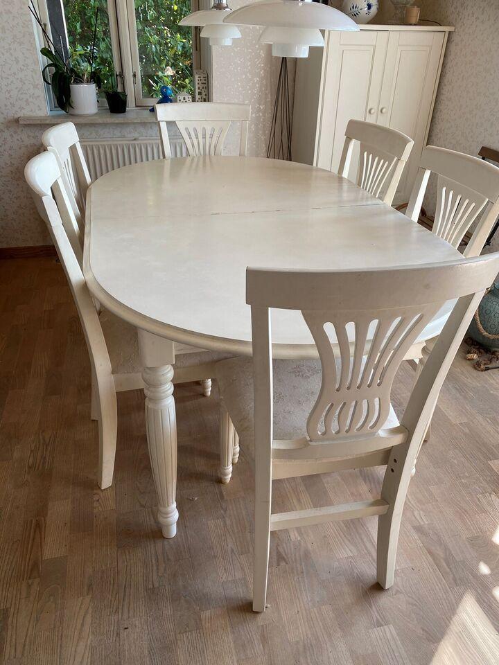 Spisebord mstole, Træ, b: 108 l: – dba.dk – Køb og Salg af