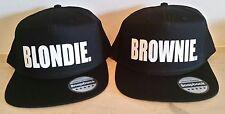 BLONDIE BROWNIE Snapback Pair Fashion PRINTED Snapback Caps Hip-Hop Hats RAPPER