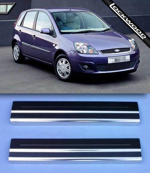 Ford Fiesta LOCKWOOD MK6 Door sills protectors S//S