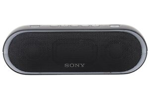 SONY-SRS-XB20-Wireless-Portable-Speaker-with-extra-bass-Black-USED-Excellent