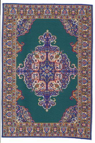 "Dollhouse Miniature Beautiful Woven Turkish Rug 6/"" x 9/"" ~ M110-214"