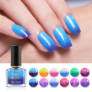 BORN-PRETTY-6ml-Nail-Polish-Glitter-Color-Changing-Thermal-Peel-Off-Varnish-Tool