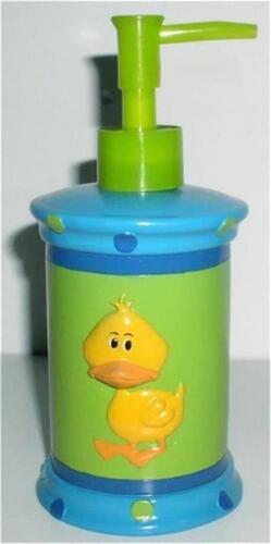 NEW RUBBER DUCKY SOAP PUMP Dispenser Yellow Ducks Kids