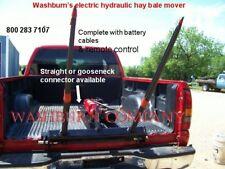 Egooseneck Pickup Truck 12 Volt Hydraulic Hay Bale Mover