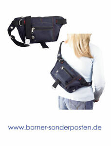 Bauchtasche-Hip-Bag-Urban-Umhaengetasche-Guerteltasche-Crossover-Bag-WIL-3L