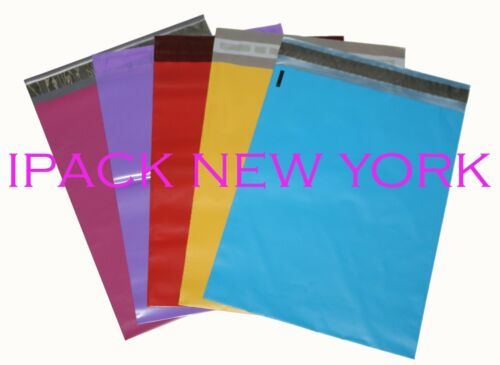 200 multi-color 10X13 Poly Mailers Shipping Envelope  Shipping Bags 40per color