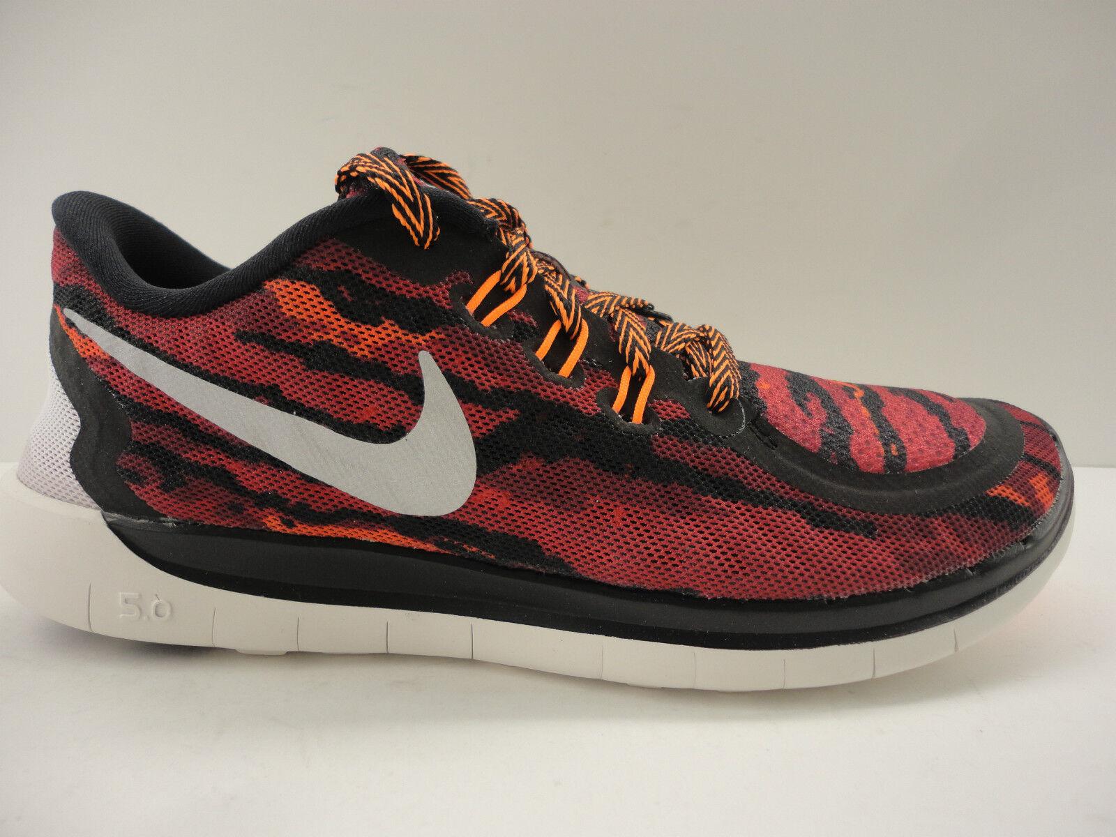 3bfc6394b55ef Nike Free 5.0 Rosherun Print GS 749681 001 Rosherun 5.0 Chaussures Femmes  af79bb