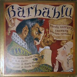 Raro - Barbablu | 3 Dischi in Cartone | Durium + Favola Mariotti Nicola Benois