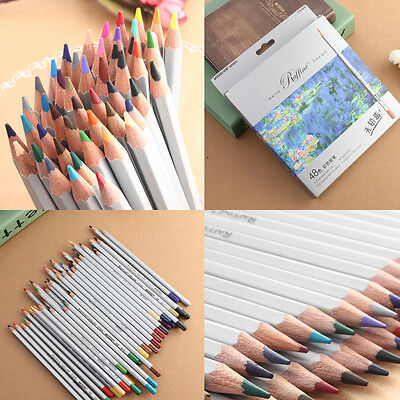 MARCO 24/36/48/72 Colors Drawing Pencil Set Non-toxic Oil Base For Artist Sketch