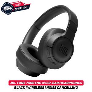 JBL TUNE 750 btnc Negro Inalámbrico sobre la oreja los Auriculares con cancelación de ruido Nuevo Active