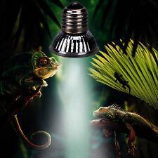 100W UVA & UVB 3.0 Ultra Violet Vivarium ES Light Bulb for Reptiles etc E27 Lamp