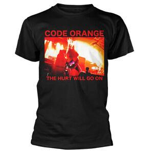 Code-Orange-Red-Hurt-Shirt-S-XXL-Punk-Metal-Band-T-Shirt-Official-Tshirt