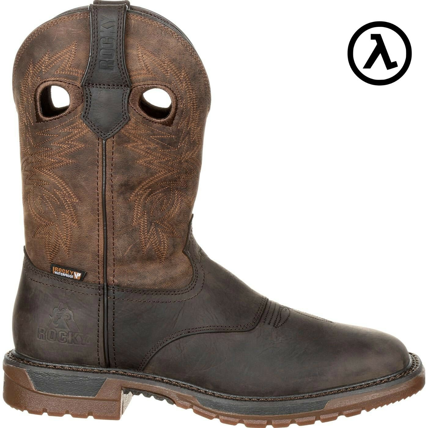 ROCKY ORIGINAL RIDE FLX WATERPROOF WESTERN BOOTS RKW0234  ALL SIZES - NEW