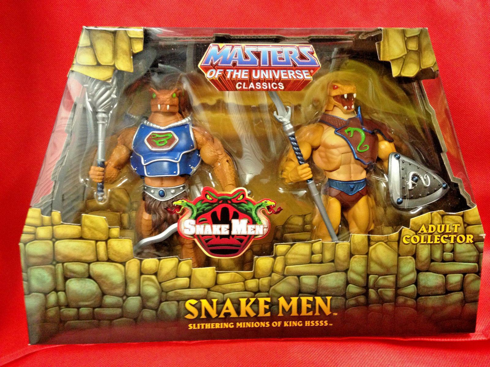 SNAKE MEN 2-Pack Masters of the Universe Classics MOTU Figure Mattel SEALED