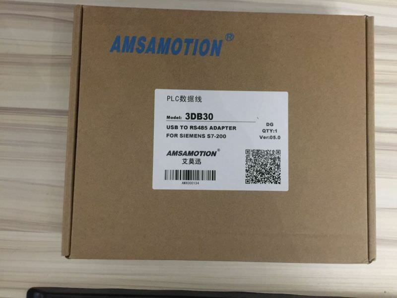NEW AMSAMOTION 3DB30 USB TO RS485 ADAPTER FOR SIEMENS S7-200  TT