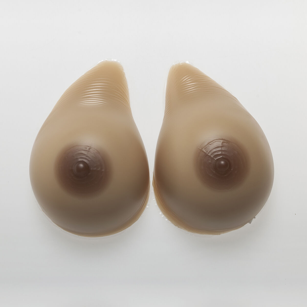 1200g pair Artificial Breast Forms Silicone Boobs Crossdresser DD Cup gift how