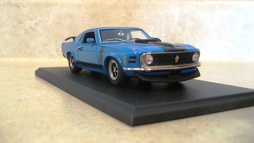 Boss 1970 mustang grabber blau