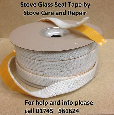 25mm ladder tape glass fitting seal, Multifuel Stove, Wood Burner, Aga Charnwood